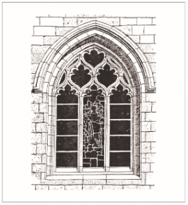 Neo gothic windows archives jerusalem design for Architectural window designs